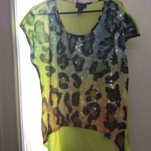 Cheetah print t